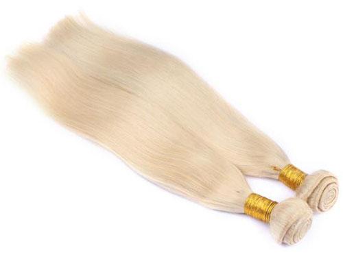 blonde hair weave